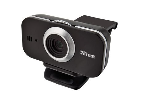 Trust Cuby Webcam - Black