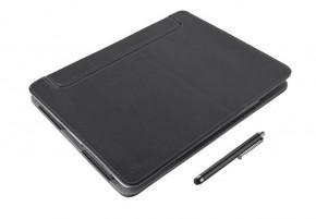 Trust eLiga Elegant Folio Stand + stylus for iPad,černá ROZBALENO