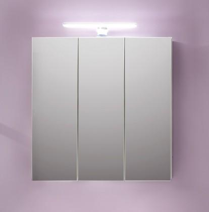 TTB - Zrcadlová skříňka (bílá, zrcadlo)