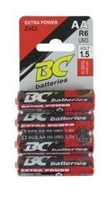 Tužková baterie BR64PAA ZnCl 4x AA