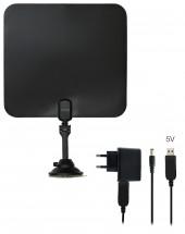 TV anténa Evolveo Xany 2C LTE, 41dBi, aktivní, pokojová
