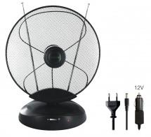 TV anténa Evolveo Xany 4 LTE, 50dBi, aktivní, pokojová POUŽITÉ, N