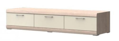 TV, Hifi stolek  - dřevěný Baira Typ 09 (Dub Bardolino/Vanila VL)