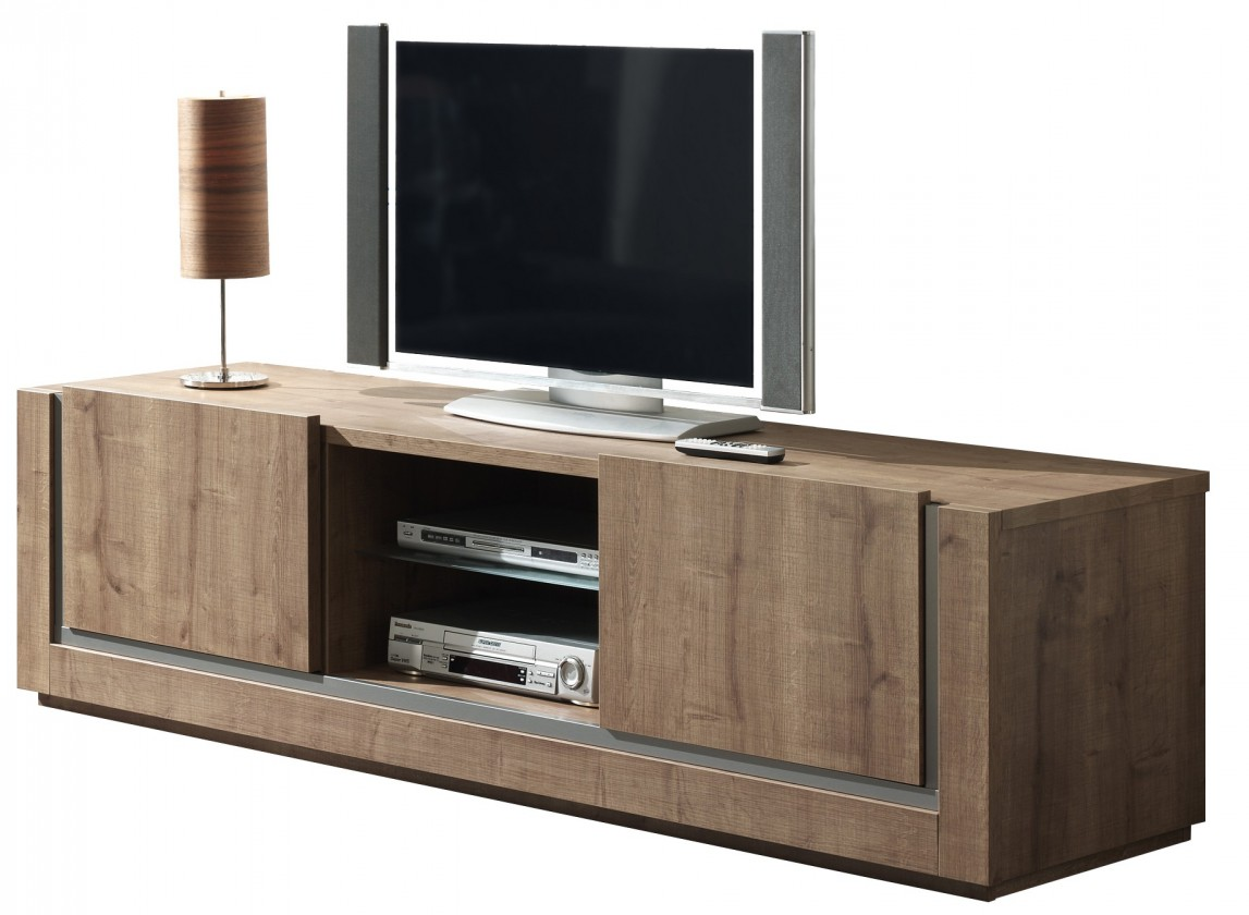 TV, Hifi stolek  - dřevěný Balto - TV element 200 C061 (dub baltic)