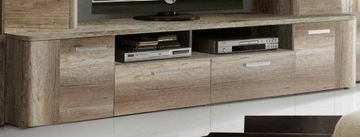 TV, Hifi stolek  - dřevěný Belmondo BLDT14 (Dub Antický)