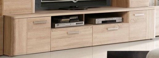 TV, Hifi stolek  - dřevěný Belmondo BLDT14 (Dub Sonoma)