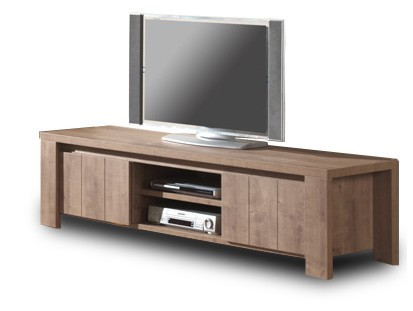 TV, Hifi stolek  - dřevěný Brest - TV element 180 C061 (dub baltic)
