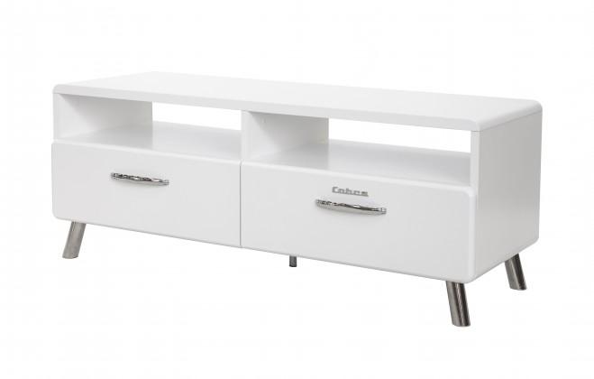 TV, Hifi stolek  - dřevěný Cobra - TV stolek, 2x zásuvka