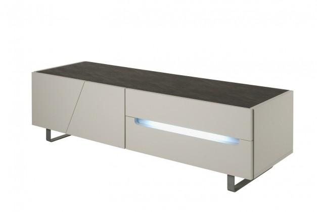 TV, Hifi stolek  - dřevěný Cooper - TV stolek (bílá)