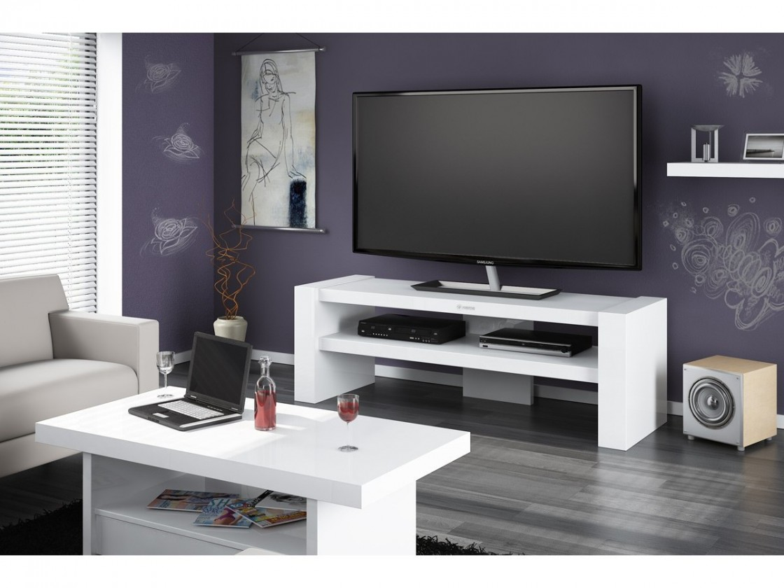 TV, Hifi stolek  - dřevěný Davos 2 - TV stolek