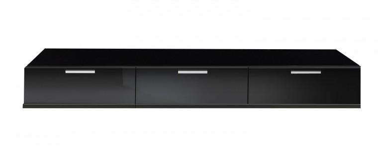 TV, Hifi stolek  - dřevěný Game - TV stolek (černá)