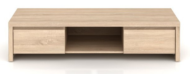 TV, Hifi stolek  - dřevěný Kaspian RTV2S (Dub sonoma)