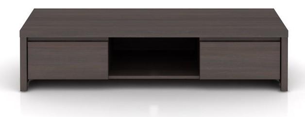 TV, Hifi stolek  - dřevěný Kaspian RTV2S (Wenge)