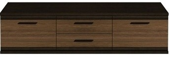 TV, Hifi stolek  - dřevěný Messina MEST14 (Dub hnědý/dub denver)