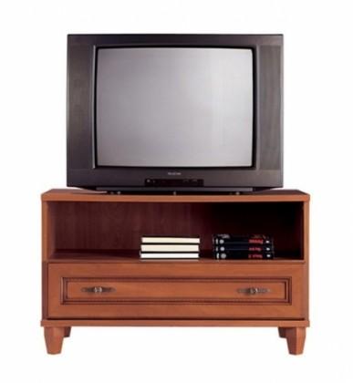TV, Hifi stolek  - dřevěný N.York GRTV 90 (Jabloň tmavá)