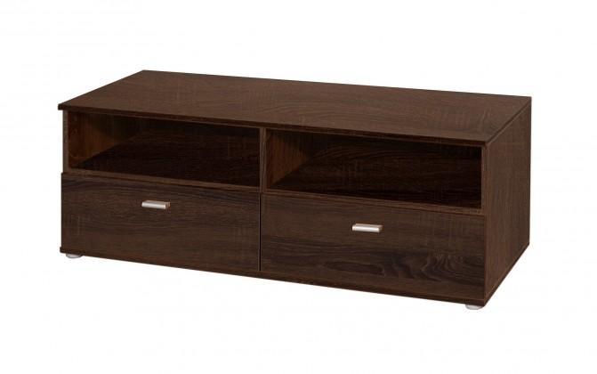 TV, Hifi stolek  - dřevěný Niko CPLT12N (D42 - dub sonoma čokoládový)