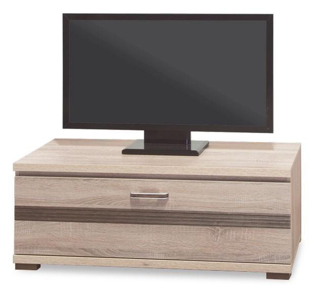 TV, Hifi stolek  - dřevěný Orlando - OR 3, TV stolek (dub sonoma trufel/dub sonoma tmavý)