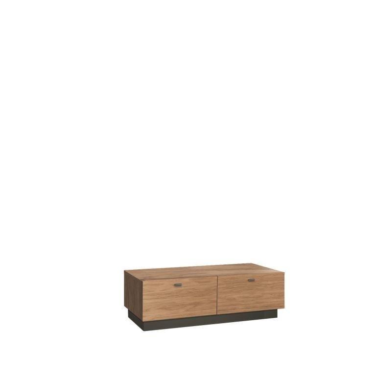 TV, Hifi stolek  - dřevěný Quartz - typ 14 (dub D1)