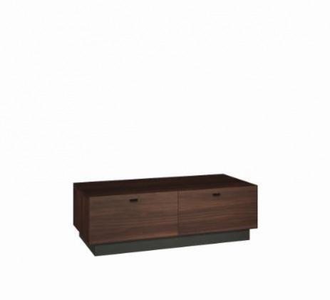 TV, Hifi stolek  - dřevěný Quartz - typ 14 (jilm J1)