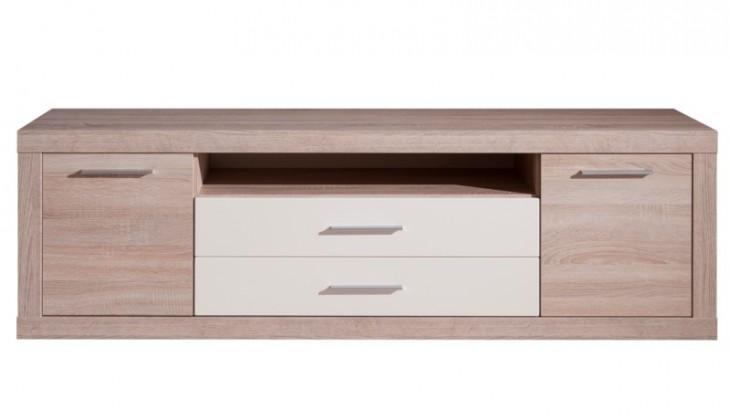 TV, Hifi stolek  - dřevěný Rover Typ 31 (Bardolino dub/vanilka)