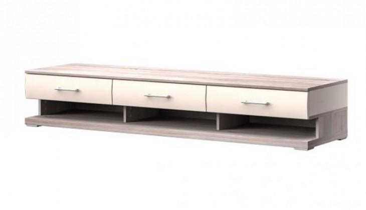 TV, Hifi stolek  - dřevěný Run Typ 11 (Dub Bardolino/Vanilka VL)
