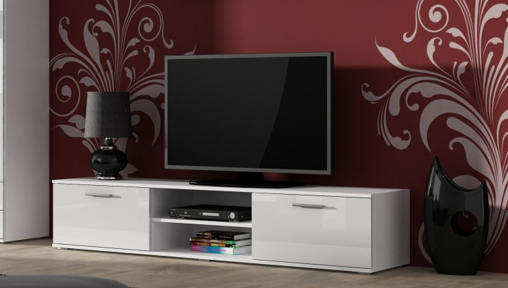 TV, Hifi stolek  - dřevěný Soho - TV komoda