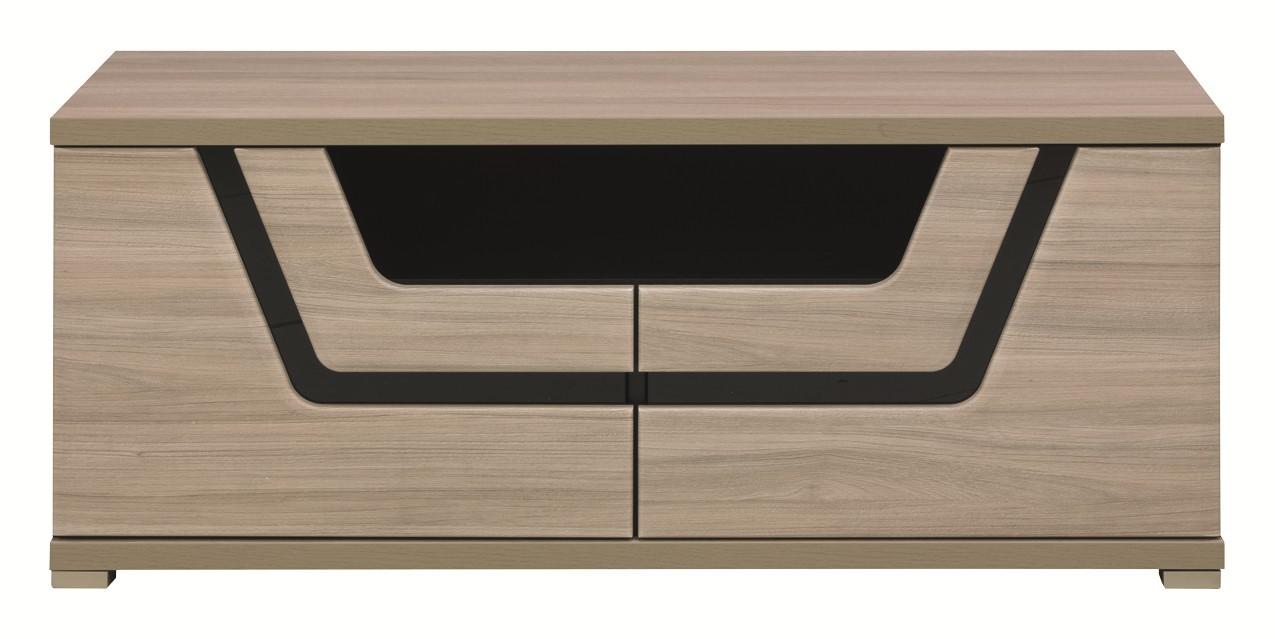 TV, Hifi stolek  - dřevěný Tes - TV komoda TS 10 (jilm, korpus a fronty)