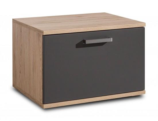 TV, Hifi stolek  - dřevěný Varino Typ 33 (san remo sand LDTD/grafit matná MDF)