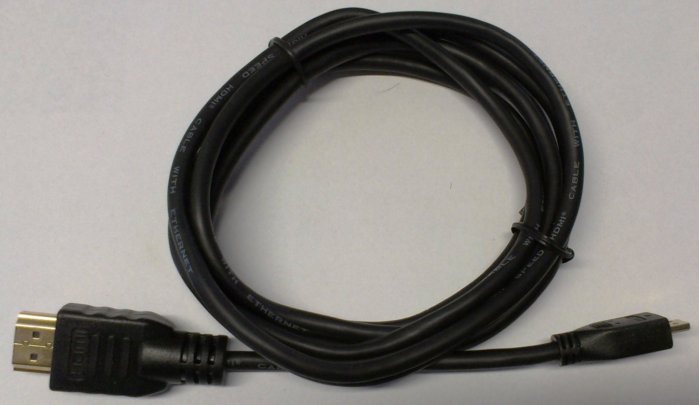 TV kabely, adaptéry HDMI/mikroHDMI TV kabel MK Floria 1,8m
