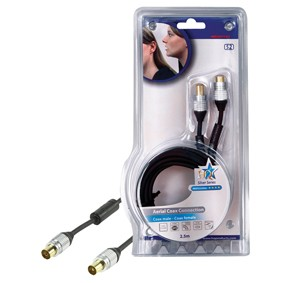 TV kabely, adaptéry Koaxiální kabel 2,5m