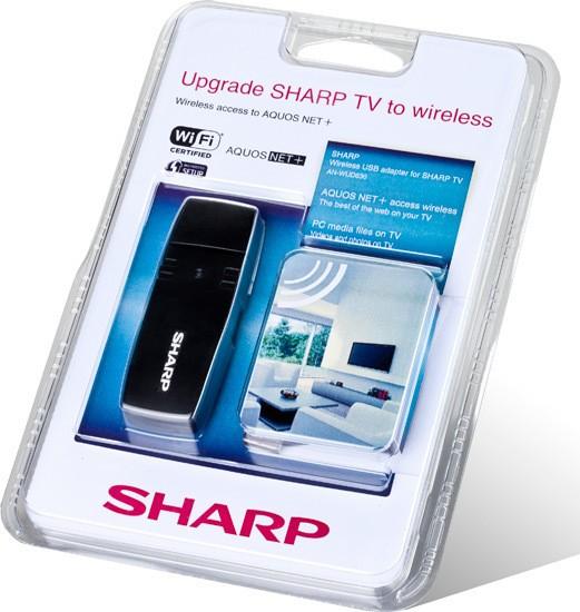 TV kabely, adaptéry Sharp AN-WUD630
