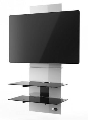 TV příslušenství Držák televize MELICONI GHOST, VESA max 600x600, 30kg, bílý