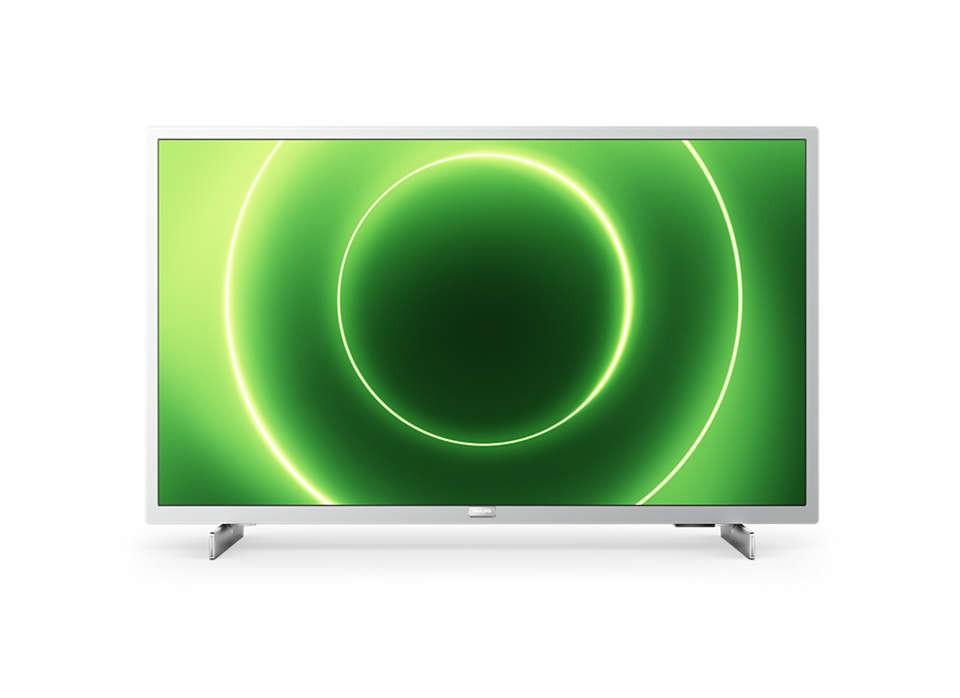 """TV s úhlopříčkou 32"""" (81 cm) Smart televize Philips 32PFS6855 (2020) / 32"""" (80 cm)"""