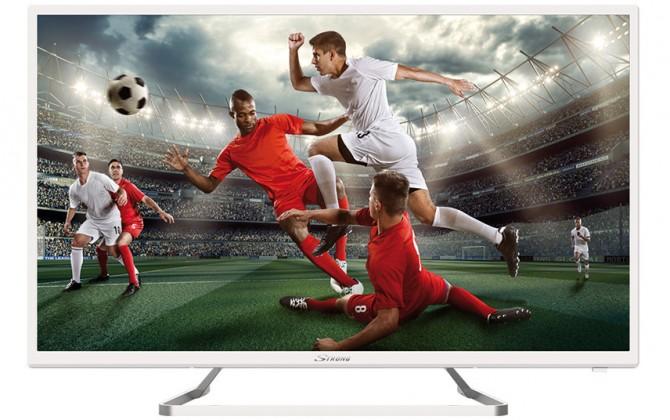 """TV s úhlopříčkou 32"""" (81 cm) Televize Strong SRT32HZ4013NW (2018) / 32"""" (80 cm)"""