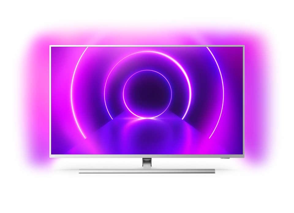 """TV s úhlopříčkou 40 až 43"""" (101 až 109 cm) Smart televize Philips 43PUS8535 (2020) / 43"""" (108 cm) POUŽITÉ, N"""