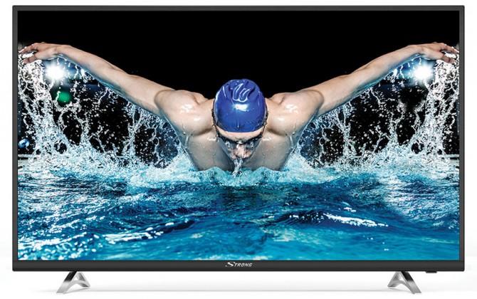 """TV s úhlopříčkou 40 až 43"""" (101 až 109 cm) Smart televize Strong SRT43UA6203 (2018) / 43"""" (108 cm)"""