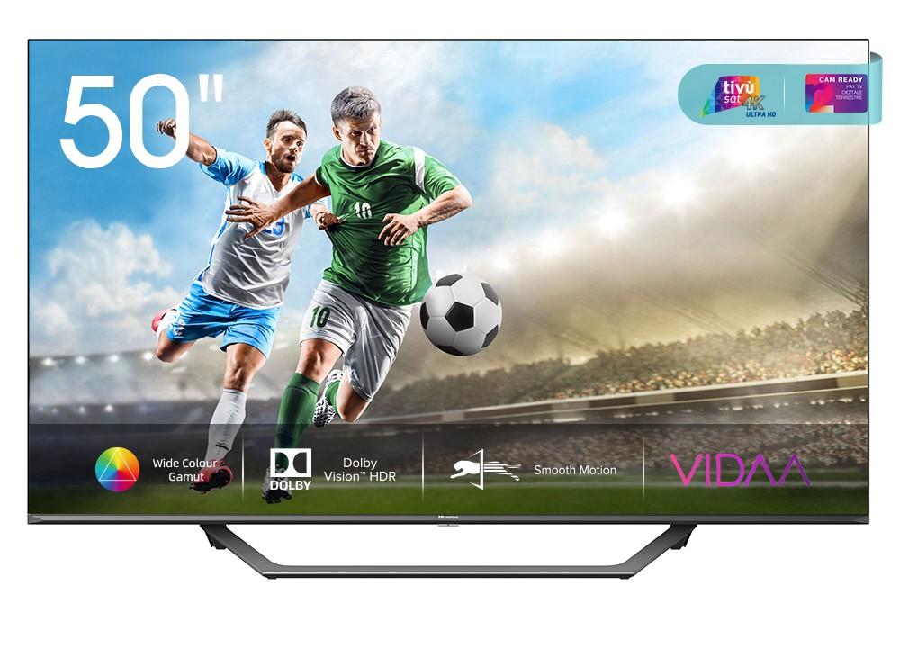 """TV s úhlopříčkou 48 až 50"""" (122 až 127 cm) Smart televize Hisense 50A7500F (2020) / 50"""" (126 cm)"""