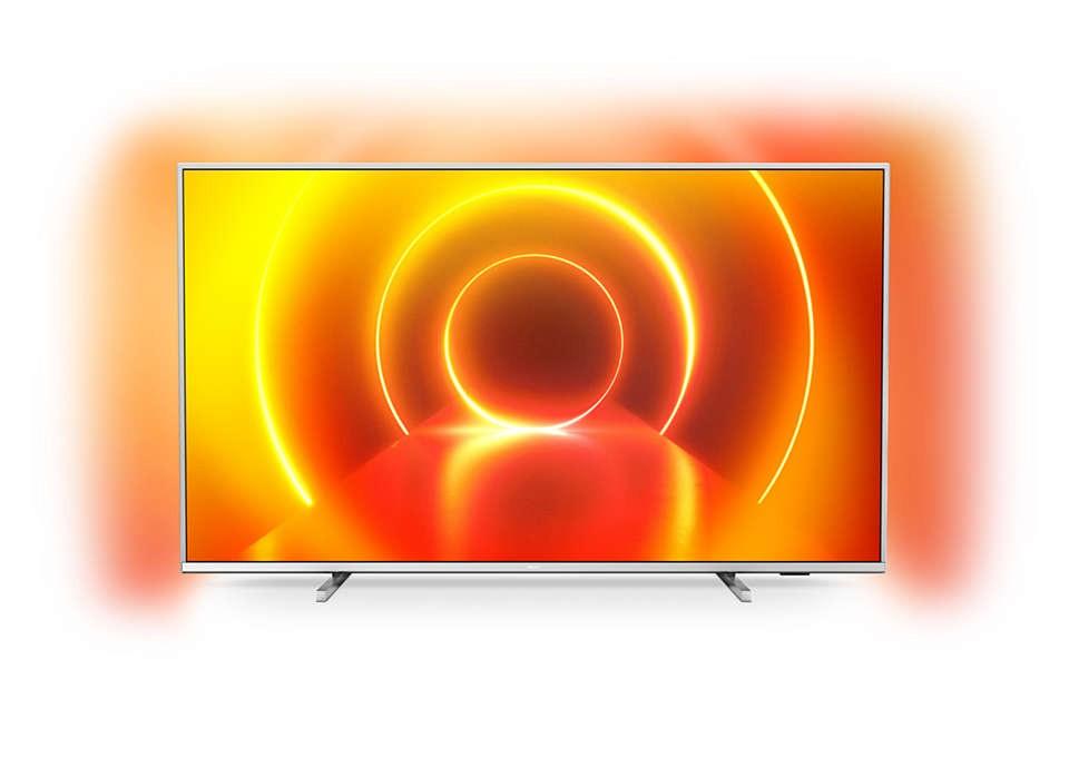 """TV s úhlopříčkou 48 až 50"""" (122 až 127 cm) Smart televize Philips 50PUS7855 (2020) / 50"""" (126 cm)"""