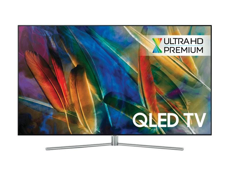 """TV s úhlopříčkou 48 až 50"""" (122 až 127 cm) Smart televize Samsung QE49Q7F (2017) / 49"""" VADA VZHLEDU, ODĚRKY"""
