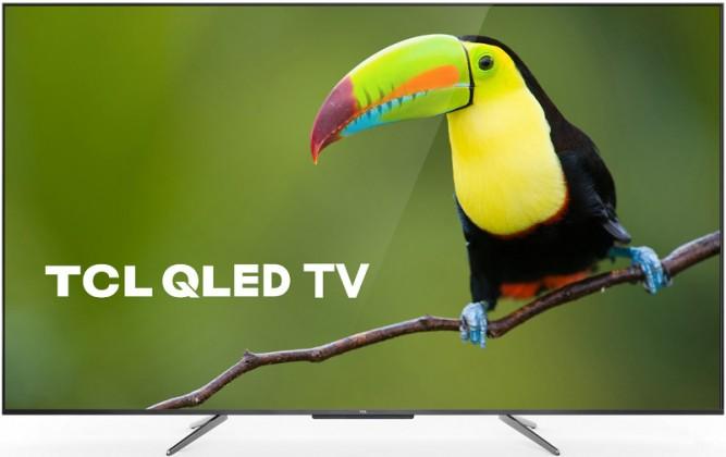 """TV s úhlopříčkou 48 až 50"""" (122 až 127 cm) Smart televize TCL 50C715 (2020) / 50"""" (126 cm)"""