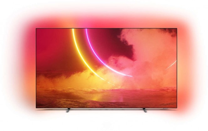 "TV s úhlopříčkou 55"" (139 cm) OLED televize Philips 55OLED805 (2020) / 55"" (139 cm)"
