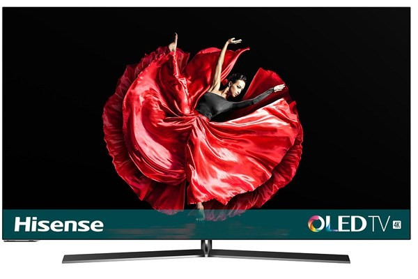 """TV s úhlopříčkou 55"""" (139 cm) Smart televize Hisense H55O8B (2019) / 55"""" (138 cm)"""