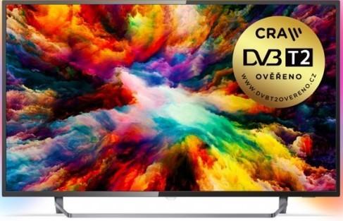 """TV s úhlopříčkou 55"""" (139 cm) Smart televize Philips 55PUS7303 (2018) / 55"""" (139 cm)"""