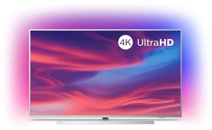"""TV s úhlopříčkou 55"""" (139 cm) Smart televize Philips 55PUS7304 (2019) / 55"""" (139 cm)"""