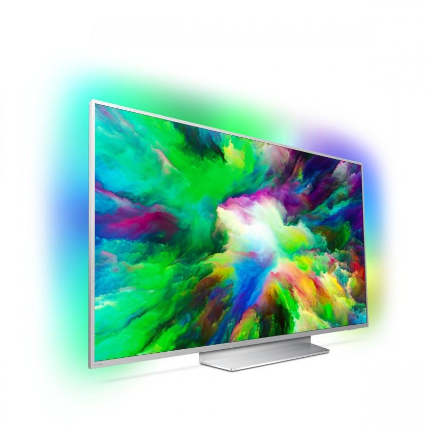 """TV s úhlopříčkou 55"""" (139 cm) Smart televize Philips 55PUS7803 (2018) / 55"""" (139 cm)"""