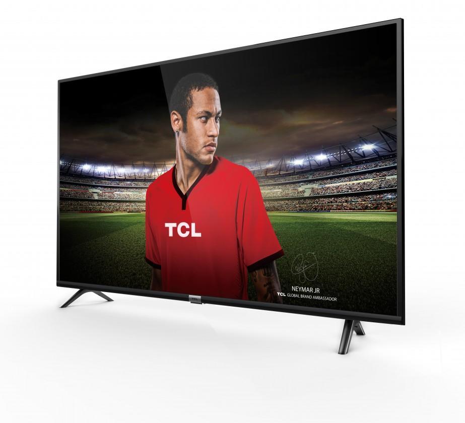 """TV s úhlopříčkou 55"""" (139 cm) Smart televize TCL 55DP600 (2018) / 55"""" (139 cm)"""