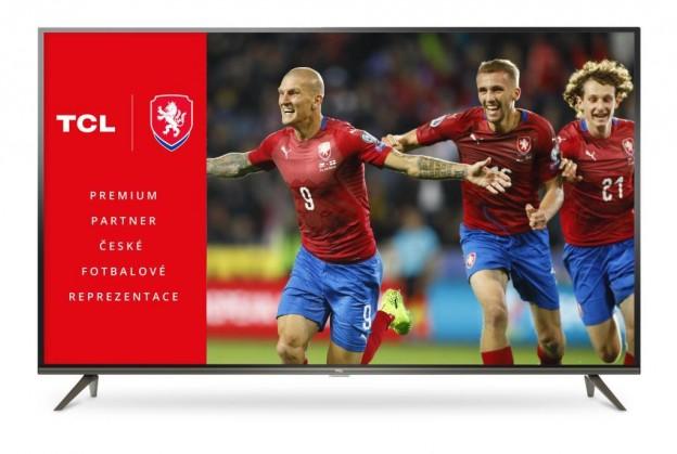 """TV s úhlopříčkou 55"""" (139 cm) Smart televize TCL 55EP641 (2019) / 55"""" (139 cm)"""