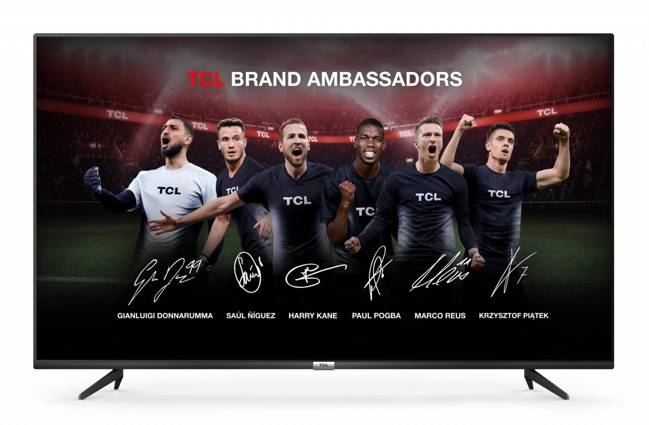 """TV s úhlopříčkou 55"""" (139 cm) Smart televize TCL 55P615 (2020) / 55"""" (139 cm)"""