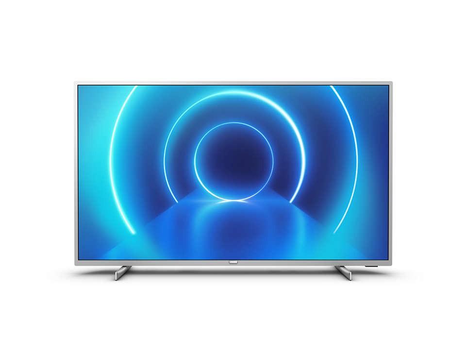 """TV s úhlopříčkou 58 až 60"""" (147 až 152 cm) Smart televize Philips 58PUS7555 (2020) / 58"""" (146 cm) OBAL POŠKO"""