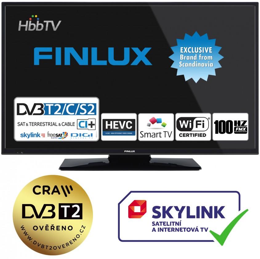 """TV s úhlopříčkou do 31"""" (79 cm) Smart televize Finlux 24FHD5760 (2019) / 24"""" (61 cm)"""